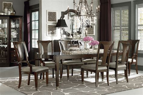 cosmopolitan rectangular dining table by bassett furniture