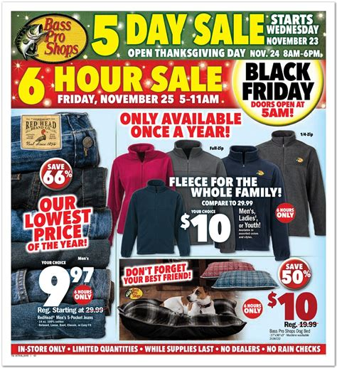 Black Friday Pit Sale Bass Pro Shops Black Friday 2017 Ads Deals And Sales