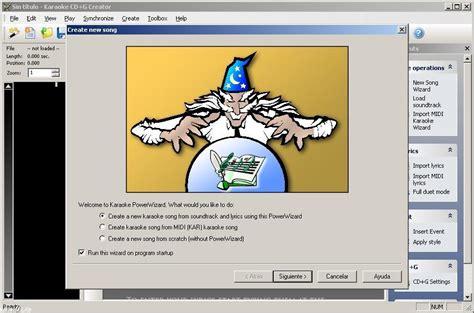 karaoke creator software free download full version karaoke cd g creator version 2 1 9