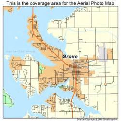 grove map aerial photography map of grove ok oklahoma
