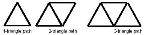 Triangle Matchstick Pattern   matchstick patterns nzmaths