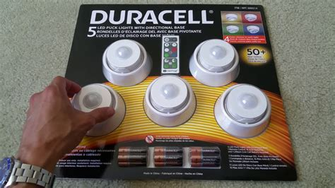 duracell 5 led puck lights duracell under cabinet light cabinets matttroy