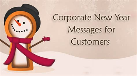 corporate new year messages for customers business wishes