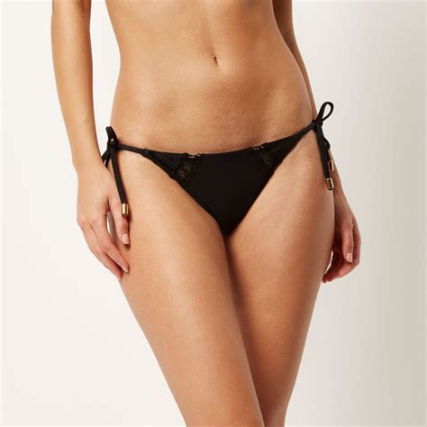 Crochet Bottoms black crochet low rise bottoms bikinis sale