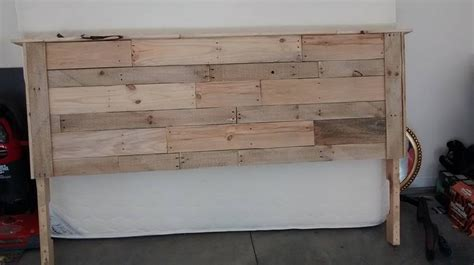 headboards made of pallets headboard made out of pallets by eduardoluisg75
