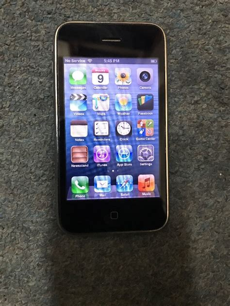 Iphone At T by Apple Iphone 3gs 32gb Black At T Smartphone Mc137ll A 854620003039 Ebay