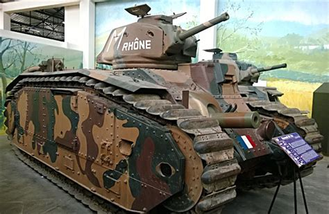 french renault tank surviving char b1 bis renault french ww2 heavy tank saumur