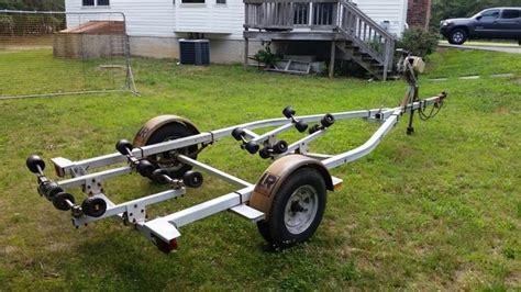 load rite boat trailer rollers 1987 load rite single axle galvanize roller trailer the