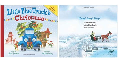 libro little blue trucks christmas little blue truck s christmas for 5 72 southern savers