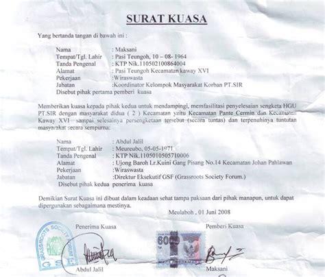 format surat kuasa khusus pidana farza lawfirm tentang surat kuasa