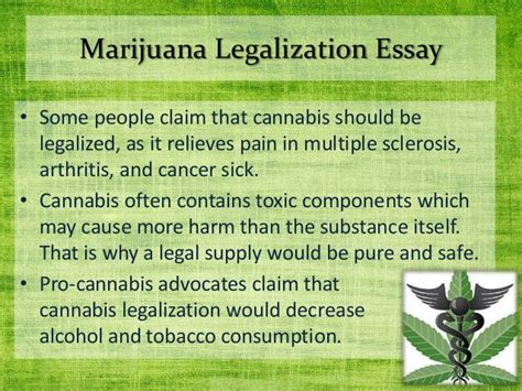 Argument Essay About Marijuana Legalization by Help Save The Afternoon Purchase Personalized Essay