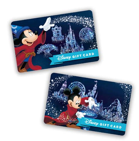 Can You Link Disney Gift Cards To Magic Band - new disney gift cards for 2017 on sale at walt disney world mickeytips com