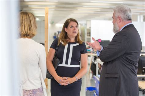 Louise Bagshawe Headed For Parliament by New Minister Pays A Visit To Gds S New Hq Government