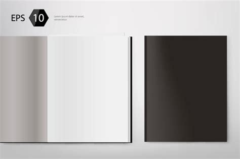 blank magazine template psd images