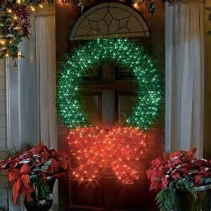 outdoor light up wreath attractive home decoratives home designing