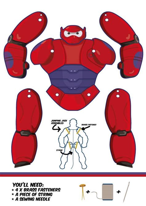 baymax big hero 6 puppet cricut explorer pinterest