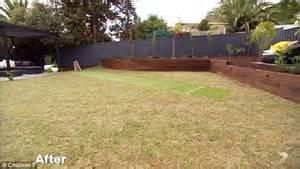 backyard cricket pitch house rules ryan and marlee eliminated after graffiti art