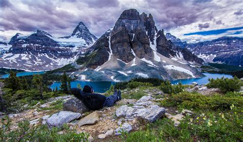 more scrambles in the canadian rockies 3rd edition books elevation of mount assiniboine east kootenay g bc v0a