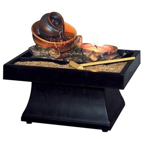 battery operated tabletop fountains homemade waterfall