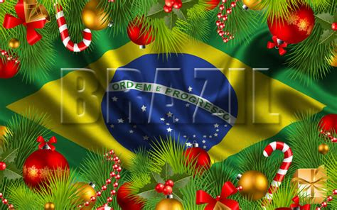 how do brazilians decorate for christmas in brazil