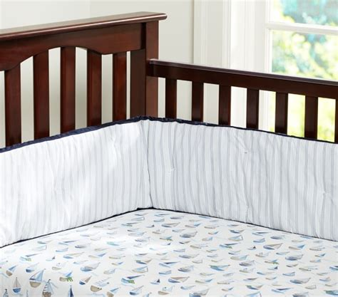 Boat Crib Bedding Row Your Boat Baby Bedding Set Pottery Barn