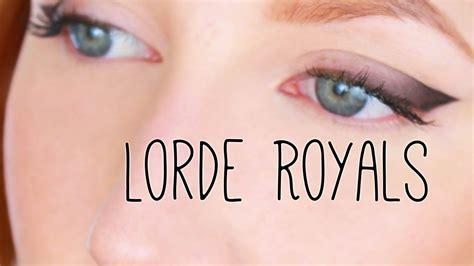 lorde makeup tutorial lorde royals official music video makeup tutorial youtube