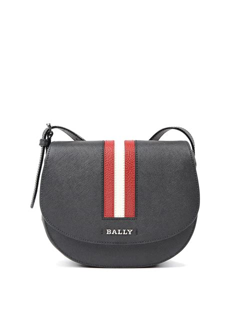 Bally Pocket Stripe Crossbody Bag Ori supra medium crossbody bag by bally cross bags ikrix