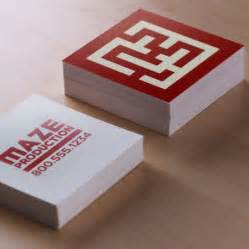print square business cards square business cards custom print options uprinting