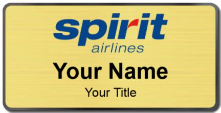 spirit airlines help desk spirit airlines name tags namebadge com