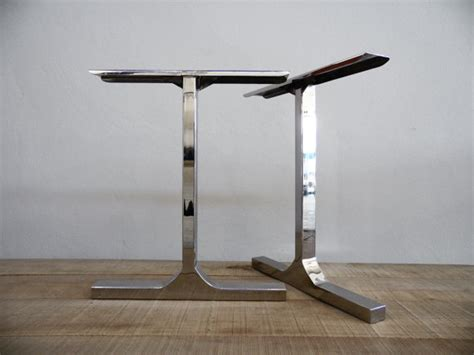 Add Height To Table Legs by 28 Besik Single Bar Table Legs Stainless Steel