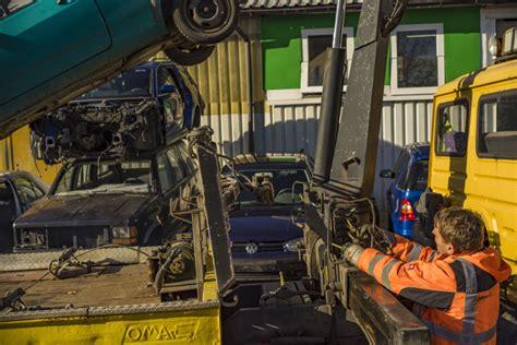 Auto Verschrotten Leipzig by Autoverwertung Gro 223 Kopf Fotos Verschrottung Verkauf