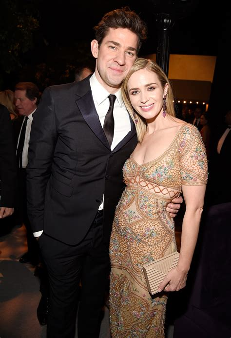 emily blunt wife emily blunt and john krasinski cute quotes people