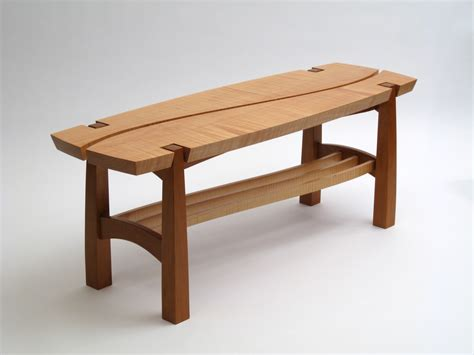 bench and project wood working woodworking hall bench plans