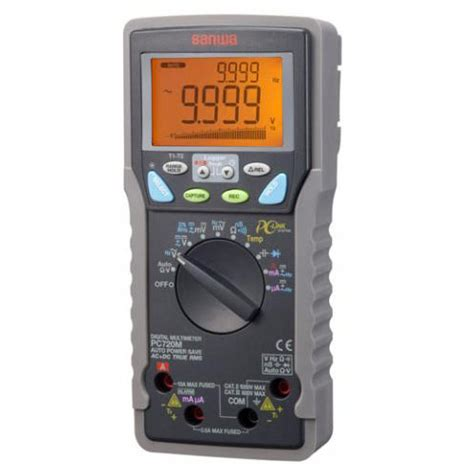 Multimeter Sanwa Pc 5000 sanwa pc720m digital multimeter meter digital