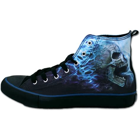 cool sneakers mens mens flaming spine sneakers s high top laceup shop