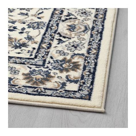 Ikea Runner Rug Uk Vall 214 By Rug Low Pile Beige Blue Runners Ikea Rug And Rugs