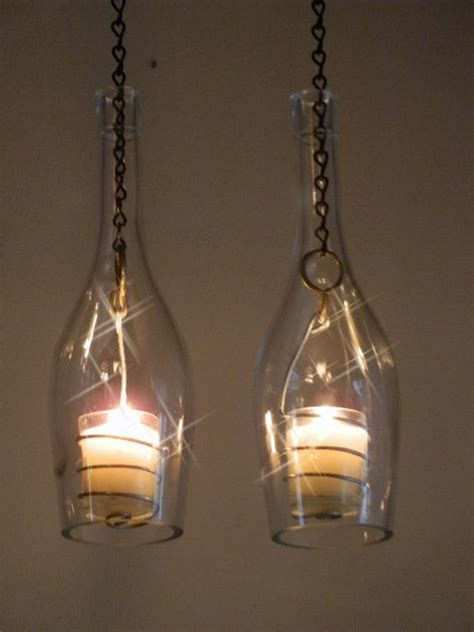 diy bottle light ideas pretty designs