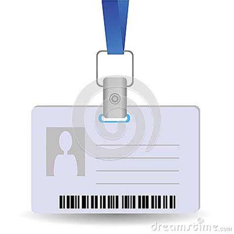name tag holder design name tag holder stock vector image 41459742