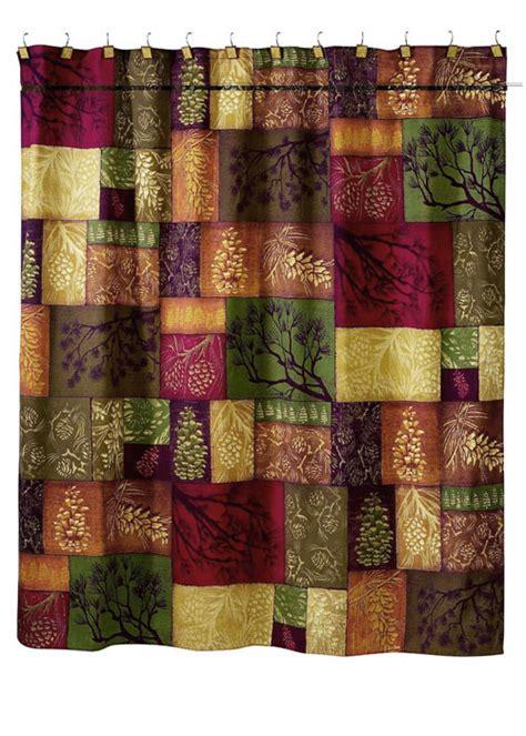 adirondack curtains adirondack pine shower curtain