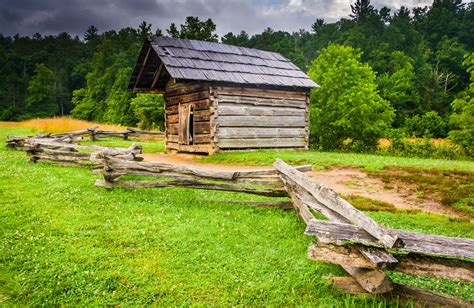 Great Smoky Mountain Log Cabin Rentals by Great Smoky Mountains National Park Breaks Visitor Record