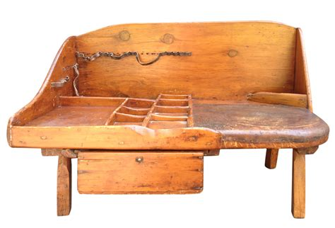 cobbler s bench antique primitive cobbler s bench with leather seat