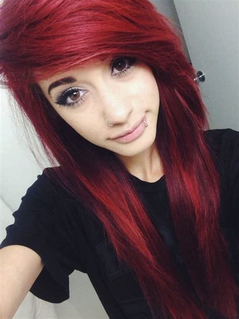 emo hairstyles for redheads 25 best ideas about emo hair on pinterest scene