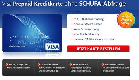 kreditkarte mit geld drauf ohne schufa kreditkarte ohne schufa beantragen zum kreditkarten vergleich