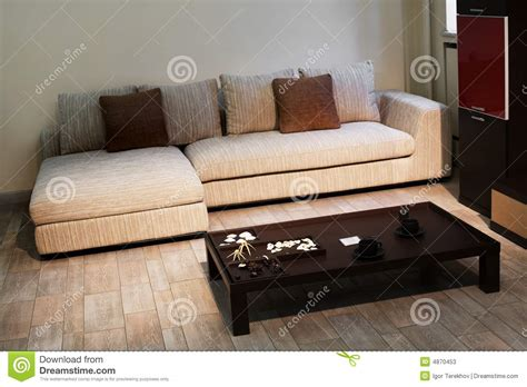 Beautiful Sofa With Pillow Stock Photos Image 4870453 Beautiful Sofa Pillows