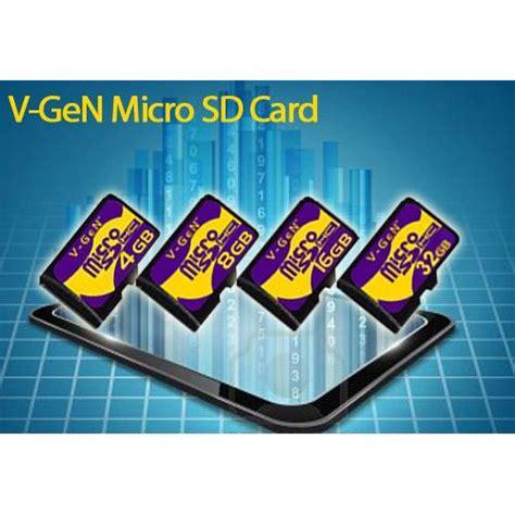 Sd Card Vgen 16gb Original Memory Card Vgen Microsd Card Vgen v micro sd 16gb vgen microsd original elevenia