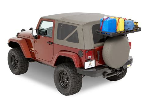 Cargo Rack For Jeep by Jeep Cargo Rack Bestop Modular Rack System
