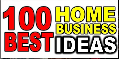 20 home based business ideas youtube 100 business ideas home based for 2016 youtube