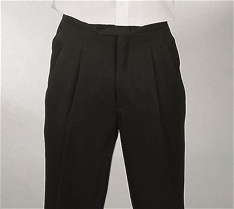 comfort waist dress pants for men pleated comfort waist dress pants for men black