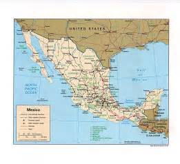 mexico and map mexico maps perry casta 241 eda map collection ut library