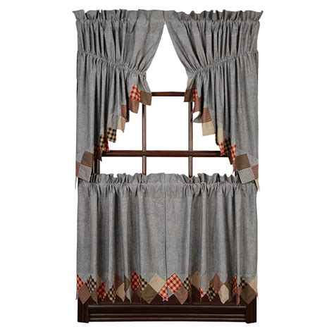 curtains 24 x 36 beacon hill curtain tiers 24 quot l x 36 quot w